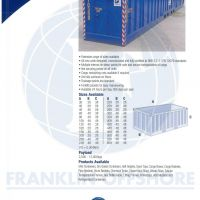 Cargo Baskets - Franklin Offshore Indonesia