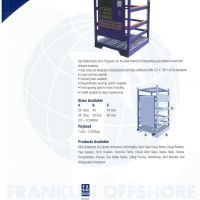 Gas Bottle Racks - Franklin Offshore Indonesia