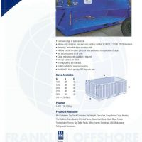 Half Height Containers - Franklin Offshore Indonesia