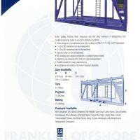 Lifting Frame - Franklin Offshore Indonesia