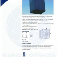 Mini Container - Franklin Offshore Indonesia